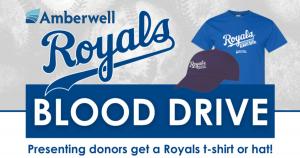 Royals Blood Drive @ Memorial Hall