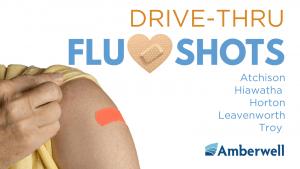 Drive-Thru Flu Shots–Hiawatha @ Amberwell Hiawatha